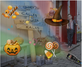 2000mAh Halloween Light Projector, 12 เพลงรูปแบบการเล่น Holiday House Projector